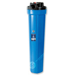 "20"" Water Filter Housing - Slim Design, Long Filter with Blue Housing"