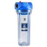 "1"" Inlet/Outlet, 10"" Clear Water Filter Housing - N-Series"