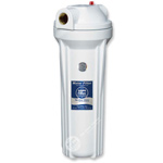 "10"" Water Filter Housing - White Head and Body"