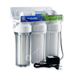 4 Stage Undercounter Water Filtration System with UV Lamp