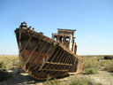 Aral Sea - ship wreck